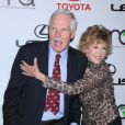 Ted Turner et Jane Fonda, Los Angeles, le 16 octobre 2010