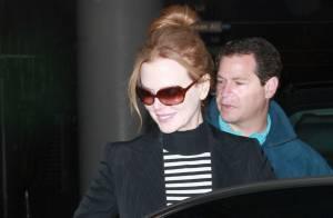 Nicole Kidman, souriante et décontractée avec Sunday Rose, son adorable sosie !