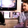 Mikelangelo Loconte parle en italien à Karine Ferri dans le 6/9 de NRJ