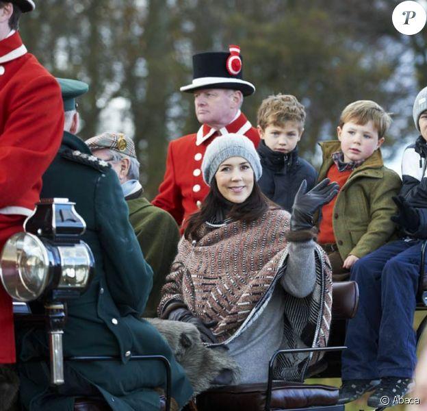 Quel suspense autour de l'accouchement de la princesse Mary de Danemark ! Alors qu'on spéculait sur son entrée à la maternité, la princesse a ressurgi dans les premiers jours de janvier ! (image d'archives)