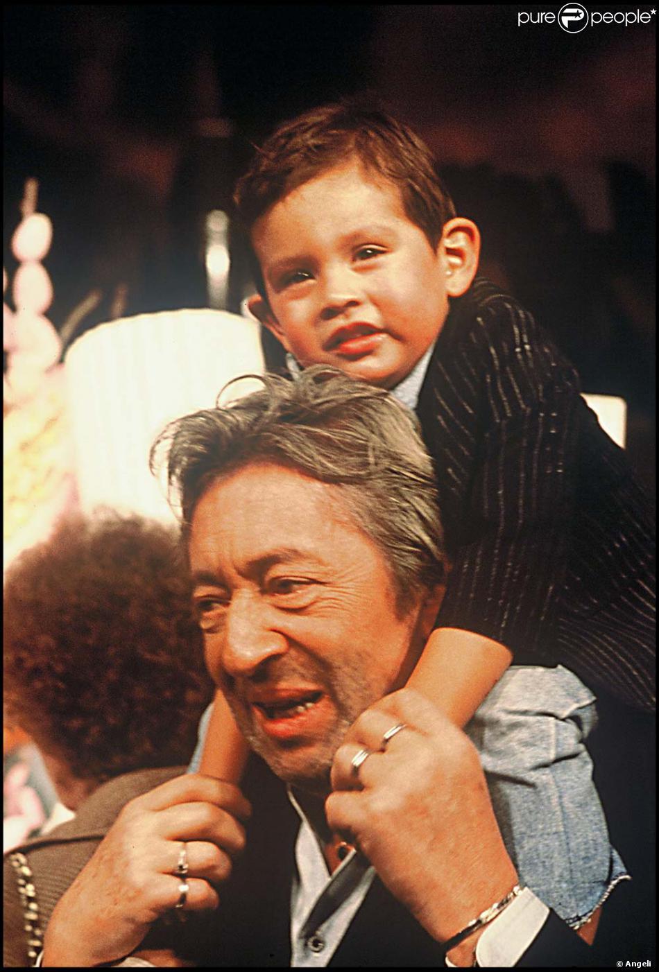 Lulu Et Serge Gainsbourg 1988