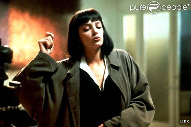Des images de  Pulp Fiction , diffusé le dimanche 9 janvier 2011, à 20h40, sur W9.