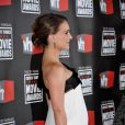 Natalie Portman enceinte, dans une robe Gianfranco Ferre aux 16ème Critics Choice Movie Awards, le 14 janvier 2011 à Los Angeles