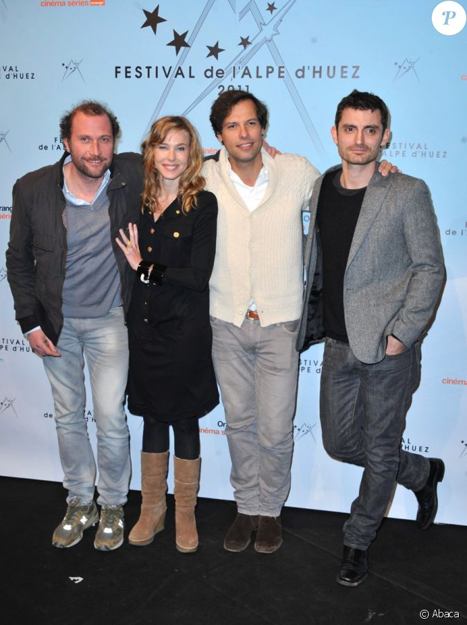 fran ois damiens pascale arbillot laurent lafitte et alexandre coffre lors du festival du film. Black Bedroom Furniture Sets. Home Design Ideas