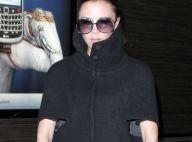Victoria Beckham enceinte : Sortie nocturne mais très petite mine...
