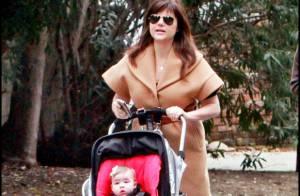 Tiffani Amber Thiessen : Une maman épanouie mais... bien arrondie !