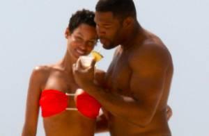 Nicole Murphy : L'ex d'Eddie Murphy, sublime avec son chéri sur la plage !