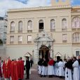 Messe prononcée pour la Sainte-Dévote, le 27 janvier 2011, à Monaco.
