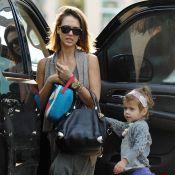 Jessica Alba : En famille, c'est encore Honor qui lui vole la vedette !