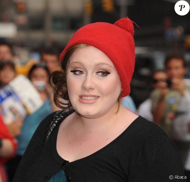 La chanteuse britannique Adele