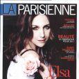 Elsa Zylberstein en couverture de La Parisienne