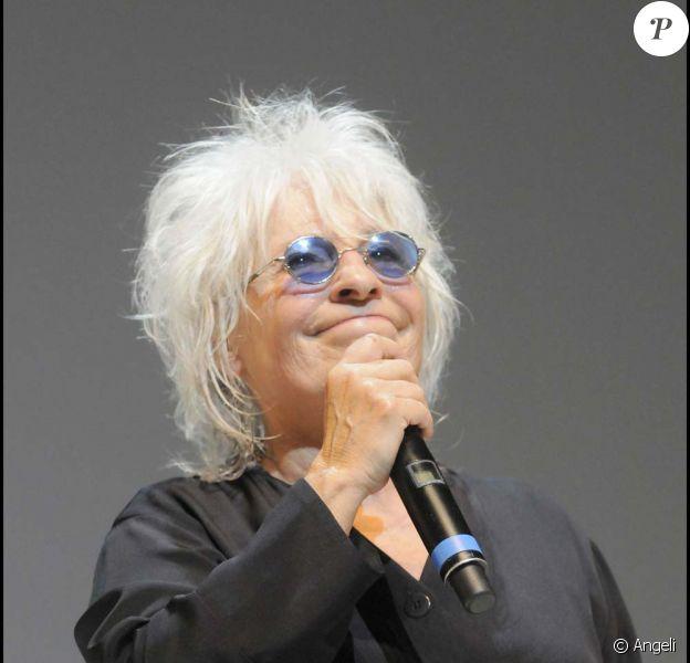 Catherine Lara au Palais des Sports de Paris, le 23 juin 2009