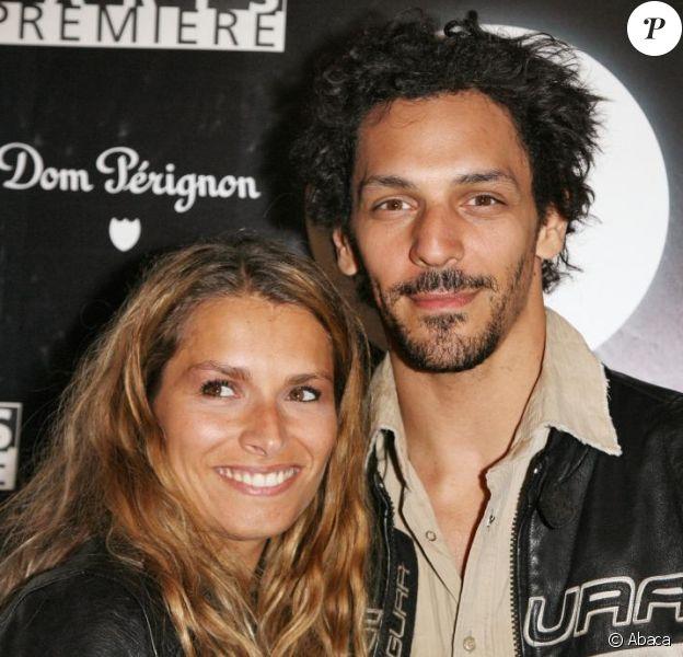 Tomer Sisley et sa compagne Julie, lors du Festival de Cannes en 2007.