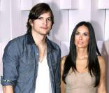 Ashton Kutcher et sa sublime épouse, Demi Moore.