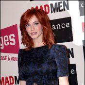 Mad Men : La sublime Christina Hendricks rencontre ses fans parisiens...