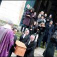 Les obsèques de Maria Schneider en l'église de Saint-Roch à Paris le 10 février 2011