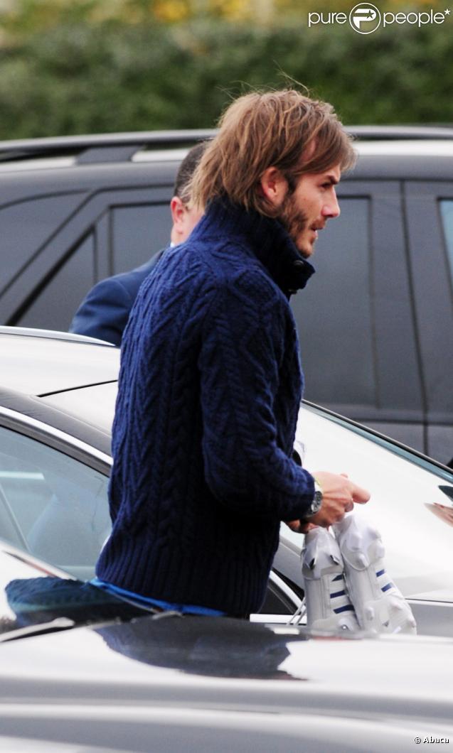 David Beckham le 10 janvier 2011