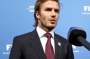 David Beckham : Au stade avec ses fils et... sa nouvelle coupe de cheveux !