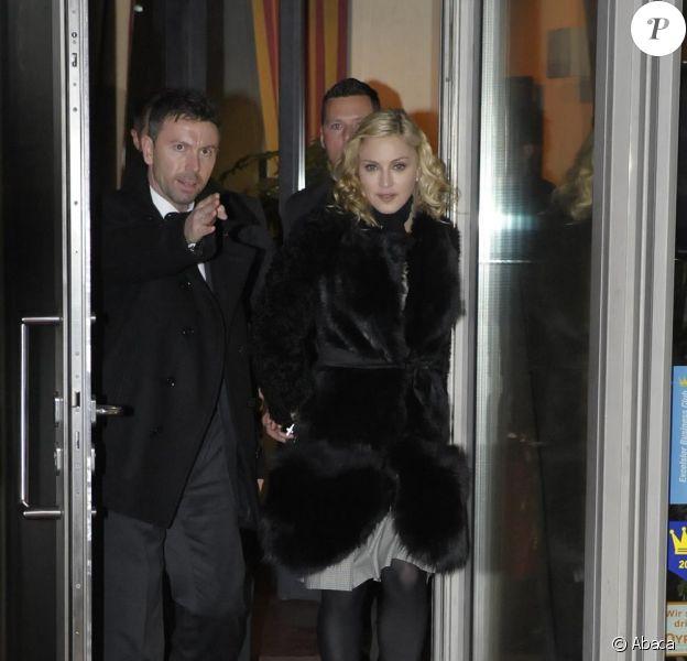 Madonna et son nouveau chéri Brahim Zaibat sont en virée à Berlin, le 13 février 2011