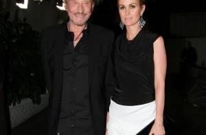 Johnny et Laetitia Hallyday : Les amoureux frenchy entourés de stars de cinéma !