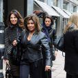 Tina Turner, avec son compagnon Erwin Bach, était en visite à la boutique Armani de Milan le 26 février 2011, prise en charge par la pro Roberta Armani, nièce du couturier.