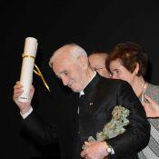 Charles Aznavour devient membre d'une drôle de confrérie !