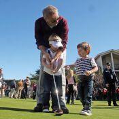 Kevin Costner : Une partie de golf avec ses fils, ça n'a pas de prix !