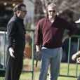 Kevin Costner et Andy Garcia au Pebble Beach Golf Resorts, à Los Angeles, le 9 février 2011