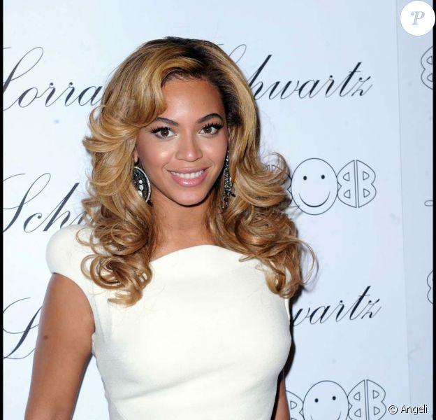 Beyoncé, à New York, le 22 novembre 2010
