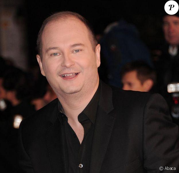 Cauet, à Cannes, le 22 janvier 2011, à l'occasion des NRJ Music Awards 2011.