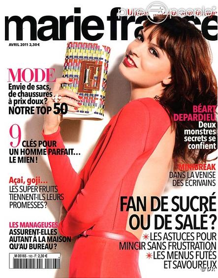 le magazine marie france du mois d 39 avril 2011. Black Bedroom Furniture Sets. Home Design Ideas