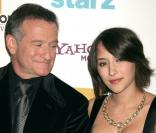 Robin Williams et sa fille Zelda
