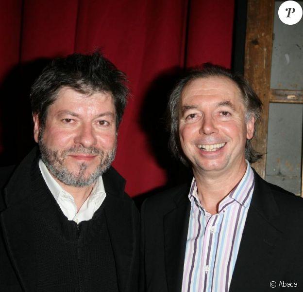 Régis Laspalès et Philippe Chevalier