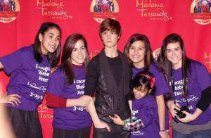 Justin Bieber : Même de cire, il crée l'émeute chez ses fans !