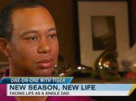"""Tiger Woods se confie sur son rôle de père célibataire : """"C'est dur !"""""""