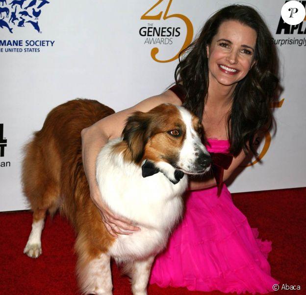 Kristin Davis à la célébration des 25 ans des Genesis Awards, le 19 mars 2011, à Los Angeles.
