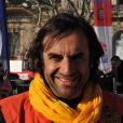 André Manoukian au coup d'envoi du Rallye des Gazelles 2011, le 19 mars 2011, à Sète.