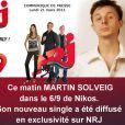 Le second single extrait de l'album Smash (sortie : juin 2011) de Martin Solveig,  Ready 2 Go , a été dévoilé le 21 mars 2011 sur NRJ. Kele, de Bloc Party, y prête sa voix. Quant à Solveig, il s'apprête à tourner au Stade de France.