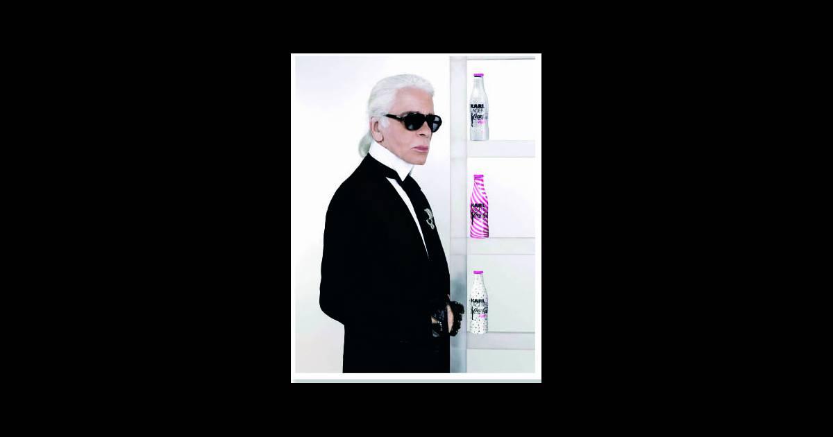 Karl Lagerfeld : Pour sa nouvelle création, il pétille d ...