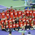 La grande famille du tennis s'est mobilisée pour récolter des fonds pour les victimes du Japon à Miami le 25 mars 2011