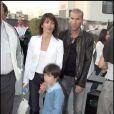 Zinédine Zidane et sa femme