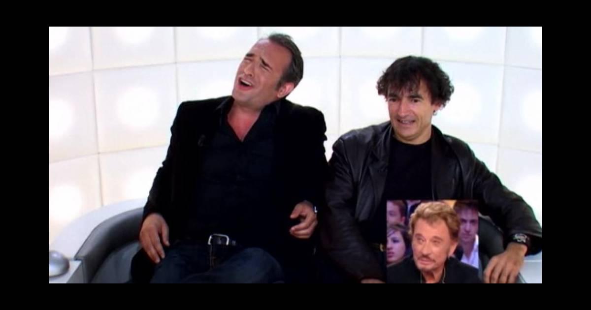 Jean dujardin et albert dupontel dans la bo te questions for Dujardin johnny