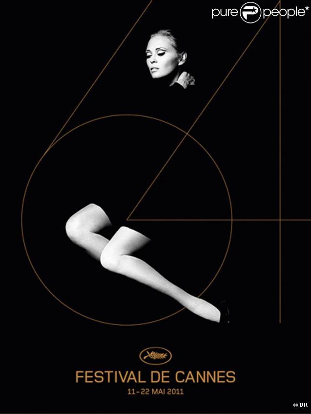 L'affiche officielle du 64e Festival de Cannes qui se tiendra du 11 au 22 mai 2011, représente Faye Dunaway shootée par Jerry Schatzberg en 1970.