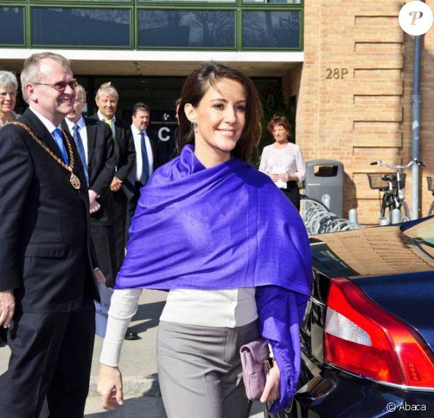 La princesse Marie de Danemark inaugurait, lundi 4 avril, le nouveau campus de l'université Syddansk, à Slagelse, sur l'île de Zealand.