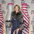 Uffie lors du lancement Coca Cola Light pour célébrer les bouteilles imaginées par Karl Lagerfeld. Le 7 avril à Paris
