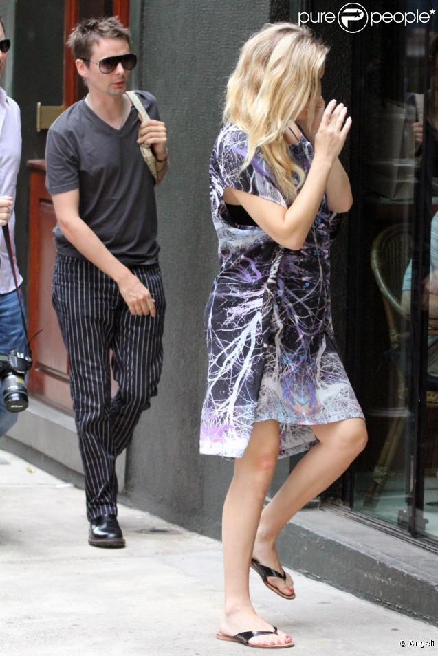 Kate Hudson et Matthew Bellamy à Sao Paulo. 10 avril 2011