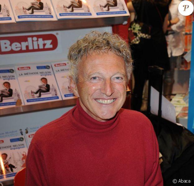 Nelson Monfort au Salon du Livre, le 19 mars 2011.