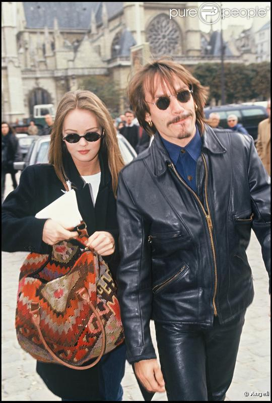 vanessa paradis et florent pagny en 1991. Black Bedroom Furniture Sets. Home Design Ideas