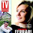 Laurence Ferrari en couverture de Tv Magazine