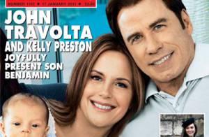 John Travolta : Son adorable bébé Benjamin est son portrait tout craché !